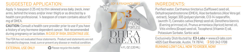 DHEA Cream