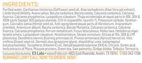 testo-cream-ingredients